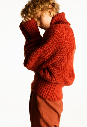 Anderssonbell앤더슨벨 ALIYAH MOHAIR TURTLE NECK atb245w(Red Brick)