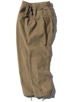 Kruchi크루치 Corduroy Easy Pants - (beige)