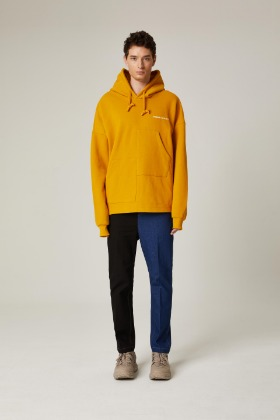 PIANARI피어나리 PIANARI signature pocket hood (yellow)
