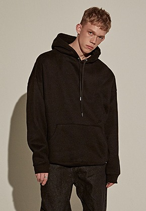 Yan13얀써틴 Y13 EMBROIDERY HOODY_BLACK
