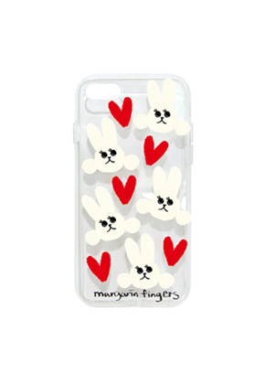Margarin Fingers마가린핑거스 (당일출고) HEART RABBIT CASE