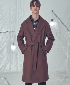 Trip LE Sens트립르센스 LE ROBE COAT BROWN