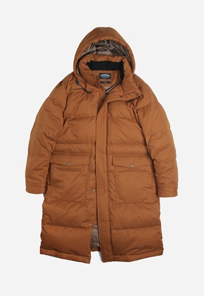 FRIZMWORKS프리즘웍스 Annual goose down long parka _ walnut