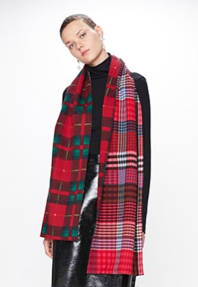 Enzoblues엔조블루스 DOUBLE CHECK MUFFLER (RED)