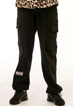 INNER CITY AUDIO이너시티오디오 SIGNATURE EMBROIDERY CARGO PANTS