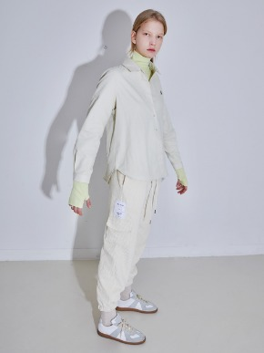 More or Less모어올레스 CODUROY JOGER PANTS - IVORY