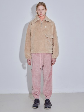 More or Less모어올레스 CODUROY JOGER PANTS - PINK
