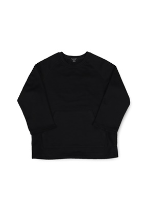 Ballute발루트 EASY SLEEVE SWEATSHIRT (BLACK)