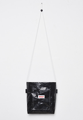 SKRAP스크랩 [SKRAP] TENT sacoche bag Black