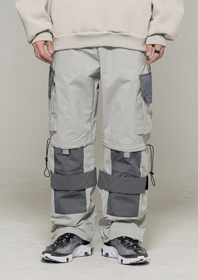 De-Nage드네이지 Utility Pants ver 2.0 Light Gray