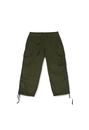 Ballute발루트 B.D.U WIDE STRING PANTS (OLIVE)