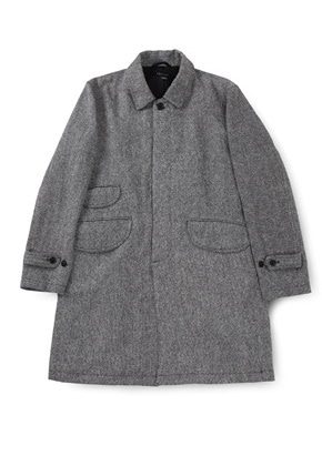 Ballute발루트 EASY BALMACAAN COAT (GREY WOOL)