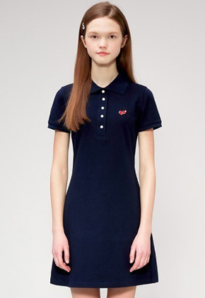 KIRSH키르시 CHERRY PK DRESS IS [NAVY]