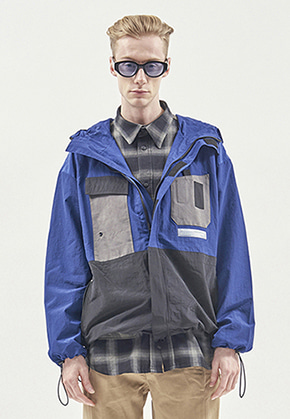 RDVZ UTILITY POCKET WINDSTOPPER BLUE