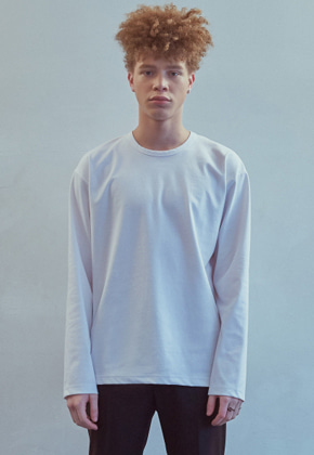 MMGL미니멀가먼츠랩 Long sleeve t-shirt (White)