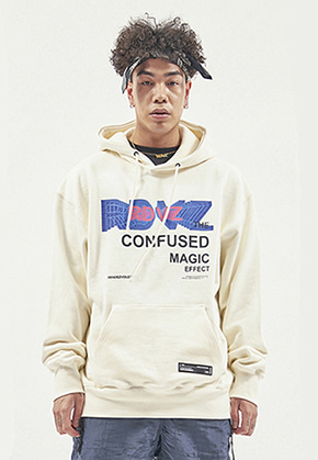 RDVZ THE CONFUSED HOODIE CREAM