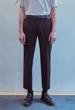 MMGL미니멀가먼츠랩 Basic slacks (Black)