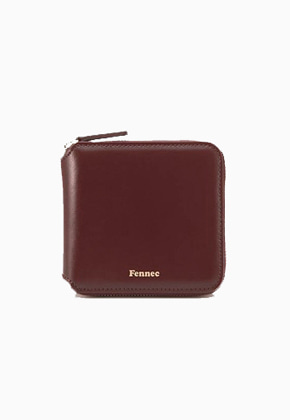 Fennec페넥 Zipper Wallet FZW007 Wine