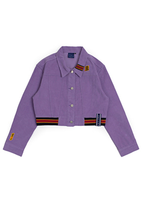 Romantic Crown로맨틱크라운 GNAC Corduroy Jacket_Purple