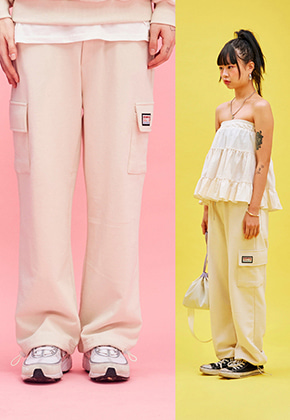 NEONMOON네온문 NEONMOON COTTON POCKET PANTS - IVORY