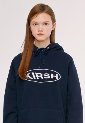 KIRSH키르시 CIRCLE LOGO HOODIE IS [NAVY]