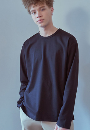 MMGL미니멀가먼츠랩 Long sleeve t-shirt (Black)