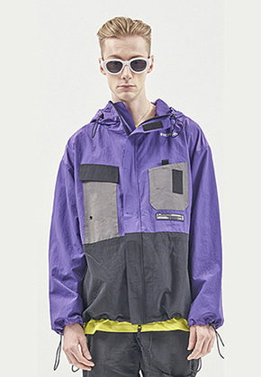 RDVZ UTILITY POCKET WINDSTOPPER PURPLE