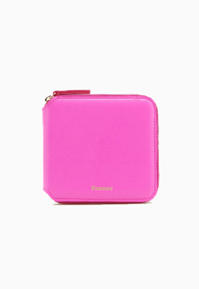 Fennec페넥 Zipper Wallet FZW008 Pink