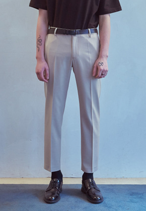MMGL미니멀가먼츠랩 Basic slacks (Beige)