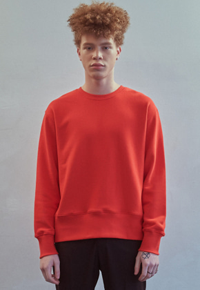 MMGL미니멀가먼츠랩 Regularfit sweatshirt (Red)