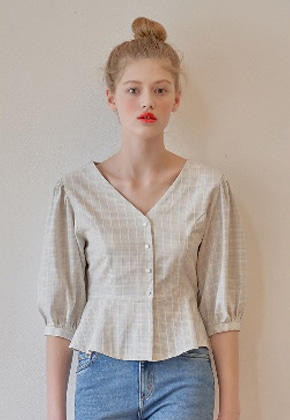 Margarin Fingers마가린핑거스 PUFF BLOUSE