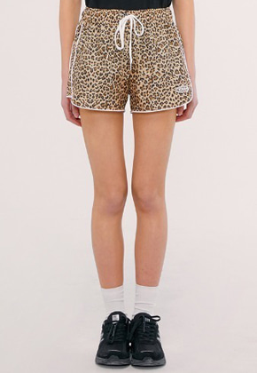 KIRSH키르시 TRACK SHORT IS [LEOPARD]