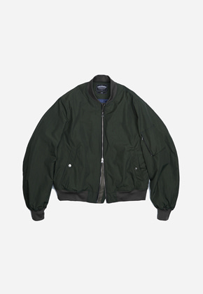 FRIZMWORKS프리즘웍스 Dover MA-1 flight jacket _ olive