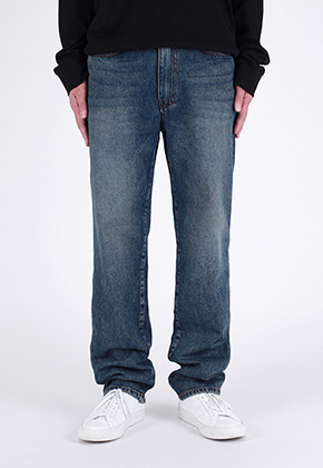 Ayoungcompany아영상사 Mid Blue Standard Jeans