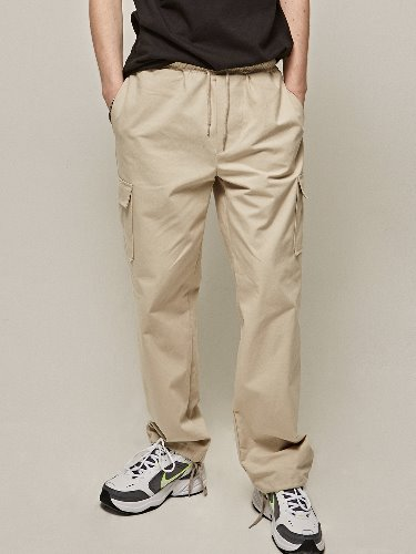 Yan13얀써틴 TRAINING CARGO PANTS_CREAM