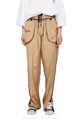 PIANARI피어나리 Inside Out Trouser (beige)