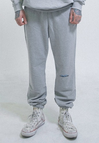 Object오브젝트 HYPERLINKING SWEATPANTS (GRAY)