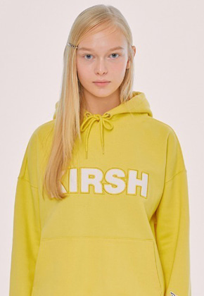KIRSH키르시 KIRSH LOGO HOODIE IS [YELLOW]