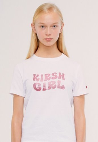 KIRSH키르시 KIRSH GIRL GLITTER TEE IS [WHITE]