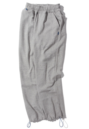 Kruchi크루치 Keyring point sweat pants (gray)