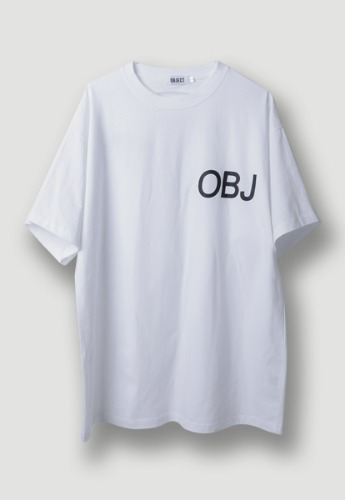 Object오브젝트 OBJ WORLD T-SHIRT (WHITE)