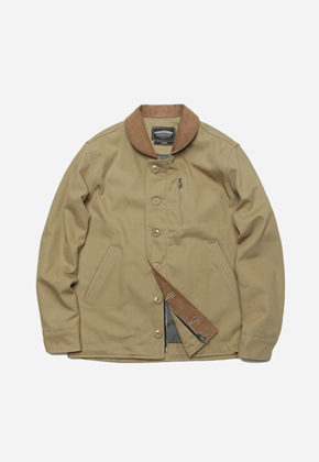 FRIZMWORKS프리즘웍스 Durable N-1 Deck jacket _ beige
