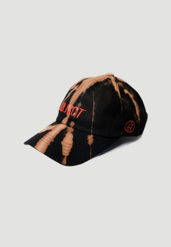 Object오브젝트 BLEACH OBJECT LOGO CAP (BLACK_RED)