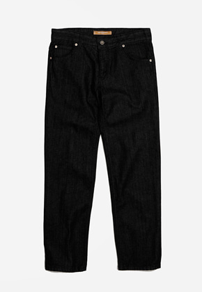 FRIZMWORKS프리즘웍스 OG Slim crop denim pants _ black