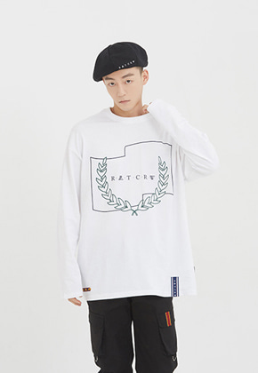 Romantic Crown로맨틱크라운 RMTCRW Long Sleeve_White