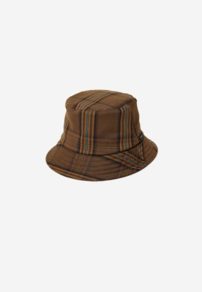 Anderssonbell앤더슨벨 UNISEX ANDERSSON CITY BUCKET HAT aaa207u BROWN CHECK