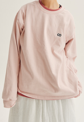 Choisi쵸이지 C.O Basic Long Sleeve, Light Pink