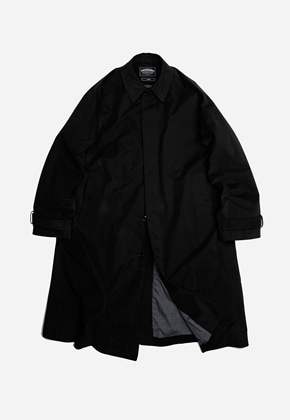 FRIZMWORKS프리즘웍스 Oversized balmacaan coat _ black
