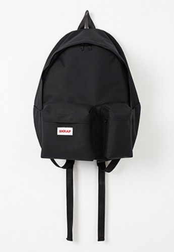 SKRAP스크랩 SKRAP Safe two pocket backpack