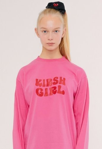 KIRSH키르시 KIRSH GIRL LOGO TEE IS [PINK]